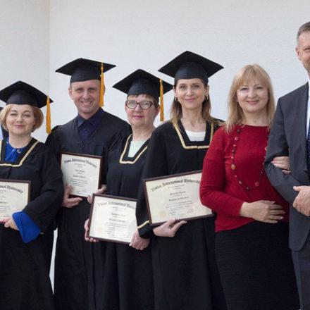 В Кишиневе состоялся выпуск бакалавров